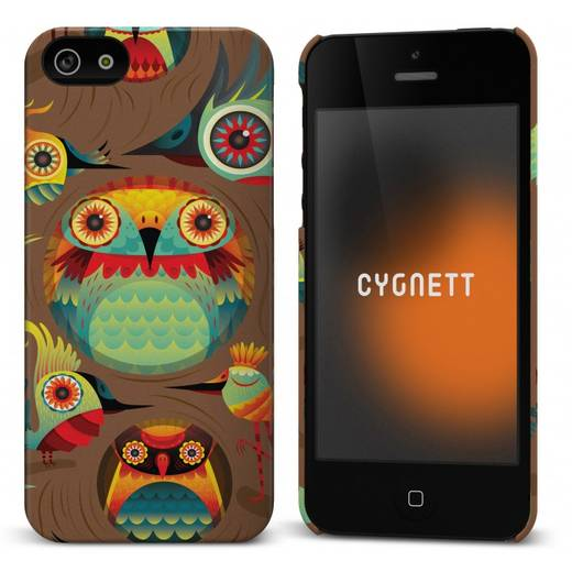 HardCase Cygnett Icon Haven Design Hoots iPhone (5)
