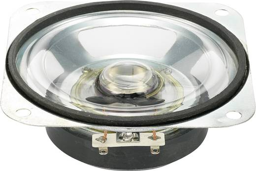Miniatur Lautsprecher 90 dB 10 W Conrad Components YD87-1-8/F60M-G 87 mm Inhalt: 1 St.
