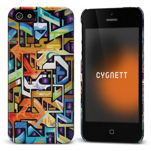 iPhone Backcover Cygnett Hard Case Icon The Bronx Design Passend für: Apple iPhone 5, Apple iPhone 5S, Apple iPhone SE,