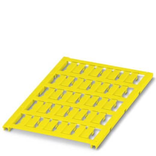 Einzeladerkennzeichner Montage-Art: aufclipsen Beschriftungsfläche: 15 x 4 mm Passend für Serie Einzeldrähte Gelb Phoeni
