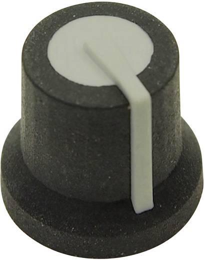 Drehknopf Schwarz/Grau (Ø x H) 16.8 mm x 14.5 mm Cliff CL170825MBR 1 St.