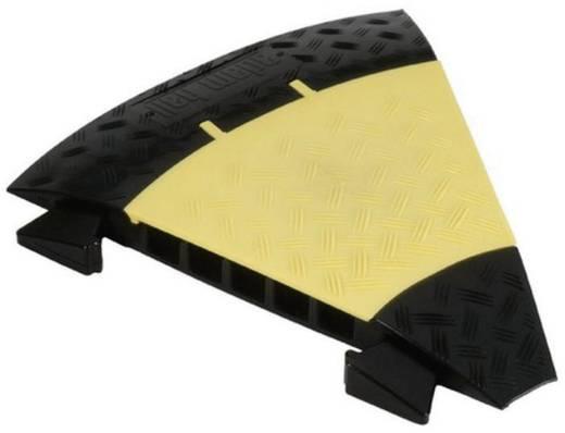 Verbindungsstück 45° Polyurethan Schwarz-Gelb Anzahl Kanäle: 5 Adam Hall Inhalt: 1 St.