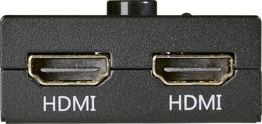 2 Port HDMI-Switch SpeaKa Professional 548324 bidirektional verwendbar 1920 x 1080 Pixel