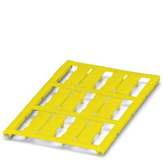 Leitermarkierer Montage-Art: aufclipsen Beschriftungsfläche: 23 x 8 mm Passend für Serie Einzeldrähte Gelb Phoenix Conta