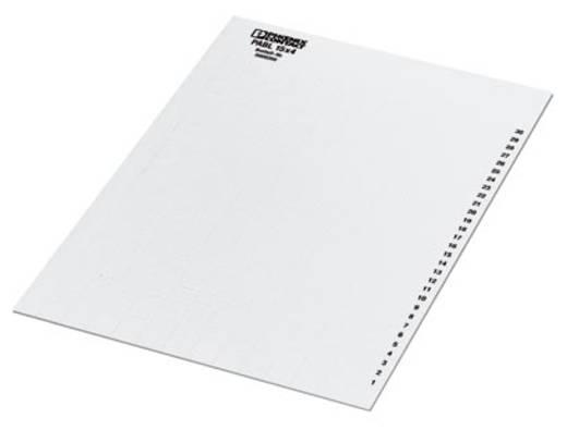 Leitermarkierer Montage-Art: aufschieben Beschriftungsfläche: 4 x 15 mm Weiß Phoenix Contact PABL 15X4 0808260 10 St.