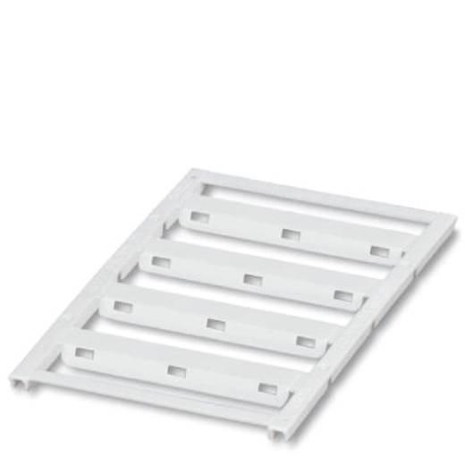 Leitermarkierer Montage-Art: Kabelbinder Beschriftungsfläche: 60 x 11 mm Passend für Serie Einzeldrähte Weiß Phoenix Con