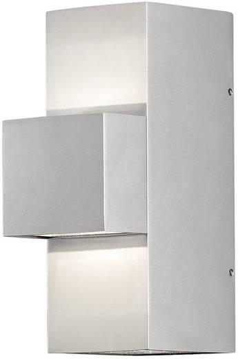 LED-Außenwandleuchte 9 W Warm-Weiß Konstsmide 7934-310 Silber-Grau
