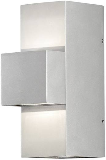 LED-Außenwandleuchte 9 W Warm-Weiß Konstsmide Imola Up & Down 7934-310 Silber-Grau