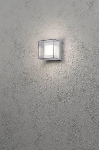 LED-Außenwandleuchte 6 W Warm-Weiß Konstsmide Remo 7924-310 Silber-Grau, Transparent