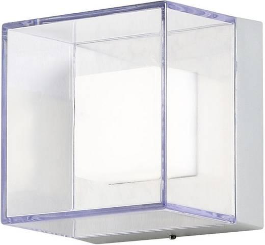 LED-Außenwandleuchte 6 W Warm-Weiß Konstsmide 7924-310 Silber-Grau, Transparent