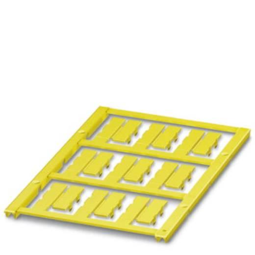 Leitermarkierer Montage-Art: aufclipsen Beschriftungsfläche: 23 x 5.50 mm Passend für Serie Einzeldrähte Gelb Phoenix Co