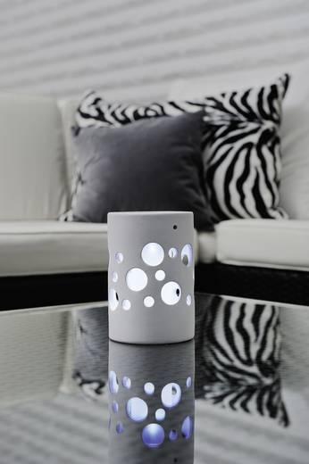 Konstsmide Solarleuchte Genova Zylinder 7800-200 LED Weiß LED fest eingebaut