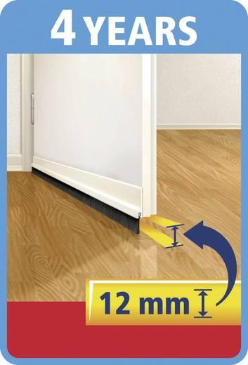 Türdichtschiene tesa tesamoll® Standard Weiß (L x B) 1 m x 40 mm Inhalt: 1 St.