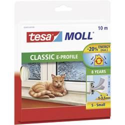 Okenní a dveřní těsnicí páska tesa 05445-100tesaMOLL® bílá (d x š) 10 m x 9 mm Množství: 1 role