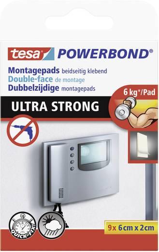 Doppelseitige Klebepads TESA tesa® POWERBOND (L x B) 60 mm x 20 mm Inhalt: 1 Pckg.