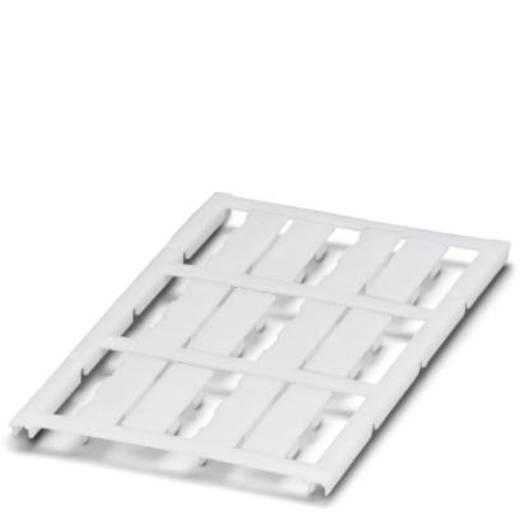 Leitermarkierer Montage-Art: aufclipsen Beschriftungsfläche: 30 x 8 mm Passend für Serie Einzeldrähte Weiß Phoenix Conta