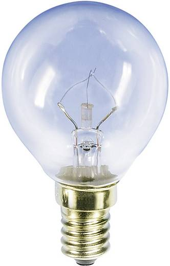 Kugellampe, Fahrradlampe 235 V 15 W E14 Klar 00781510 Barthelme 1 St.