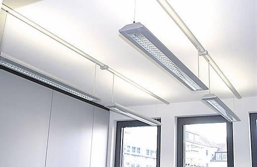 Kabelkanal (L x B x H) 1000 x 80 x 20 mm Alunovo SM90-100 1 St. Schwarz (matt)
