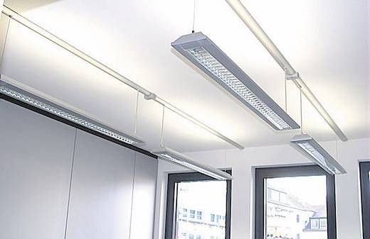 Kabelkanal (L x B x H) 250 x 80 x 20 mm Alunovo SE90-025 1 St. Schwarz (eloxiert)