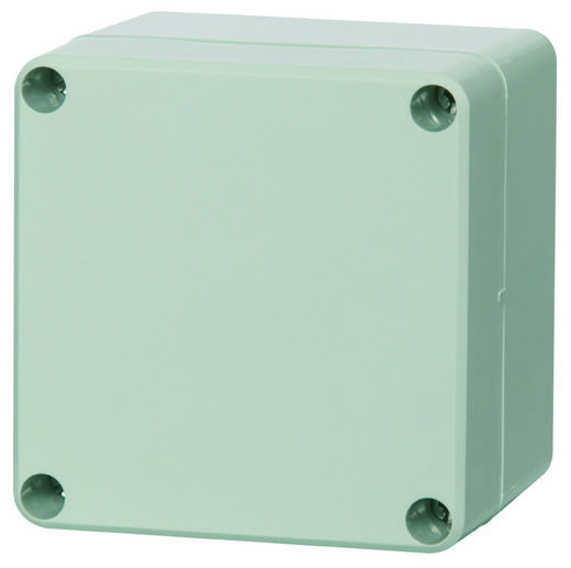 Universal-Gehäuse 80 x 82 x 85 Polycarbonat Licht-Grau (RAL 7035) Fibox PC 080809 1 St.