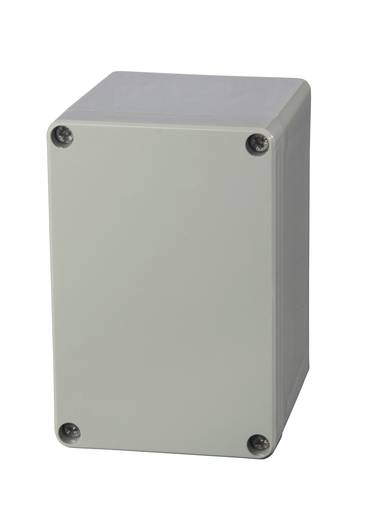 Universal-Gehäuse 80 x 120 x 85 ABS Licht-Grau (RAL 7035) Fibox AB 081209 1 St.