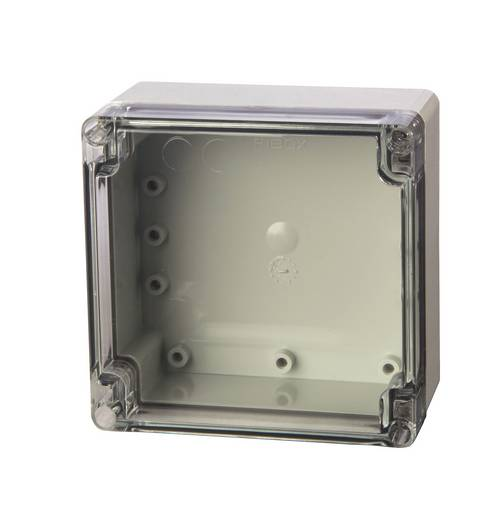 Universal-Gehäuse 120 x 122 x 65 ABS Licht-Grau (RAL 7035) Fibox ABT 121207 1 St.