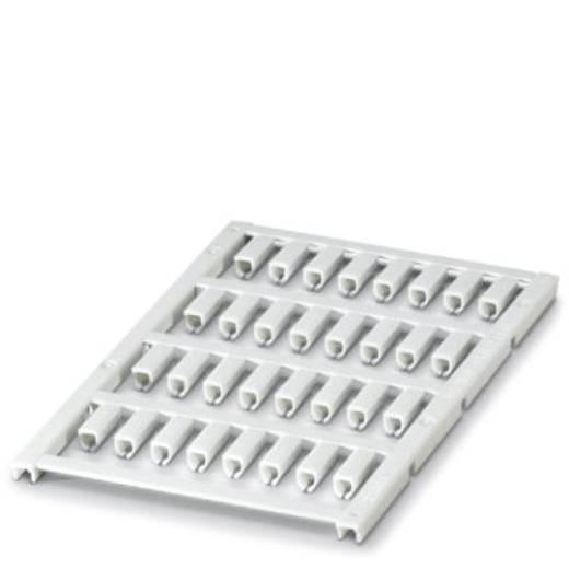 Leitermarkierer Montage-Art: aufclipsen Beschriftungsfläche: 12 x 4.50 mm Passend für Serie Einzeldrähte Weiß Phoenix Co