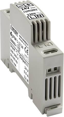 Napájecí zdroj na DIN lištu Comatec, PSM11224, 24 V/DC, 12 W
