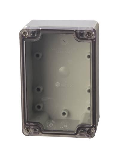 Universal-Gehäuse 80 x 120 x 55 ABS Licht-Grau (RAL 7035) Fibox ABT 081206 1 St.
