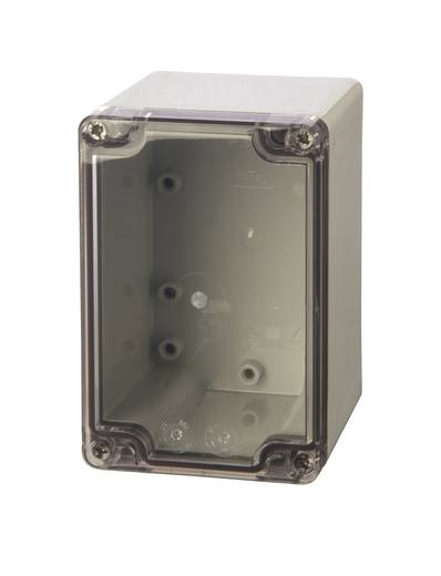 Universal-Gehäuse 80 x 120 x 85 ABS Licht-Grau (RAL 7035) Fibox ABT 081209 1 St.