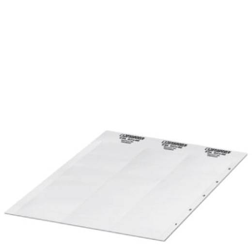Leitermarkierer Montage-Art: aufschieben Beschriftungsfläche: 29 x 8 mm Passend für Serie Schilderrahmen Weiß Phoenix Co