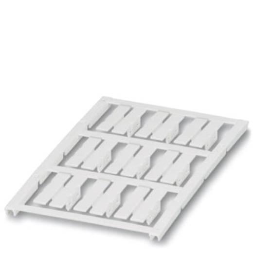 Leitermarkierer Montage-Art: aufclipsen Beschriftungsfläche: 30 x 5.50 mm Passend für Serie Einzeldrähte Weiß Phoenix Co