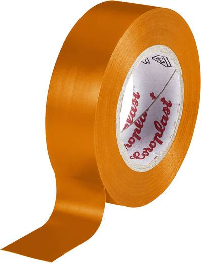 Isolierband Coroplast Orange (L x B) 10 m x 15 mm Acryl Inhalt: 1 Rolle(n)