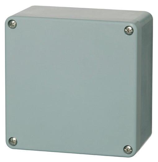 Fibox P 161609 Universal-Gehäuse 160 x 160 x 90 Polyester Silber-Grau (RAL 7001) 1 St.