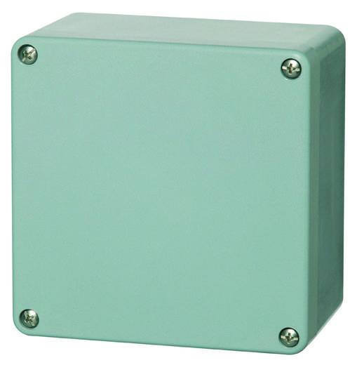 Universal-Gehäuse 160 x 160 x 90 Polyester Silber-Grau (RAL 7001) Fibox P 161609 1 St.