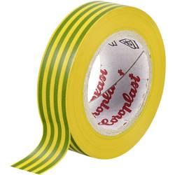 Izolačná páska Coroplast 302 302-25-GN, (d x š) 25 m x 15 mm, akryl, zelená, žltá, 1 ks