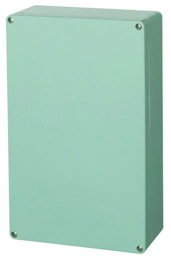 Fibox P 254012 Universal-Gehäuse 250 x 400 x 120 Polyester Silber-Grau (RAL 7001) 1 St.