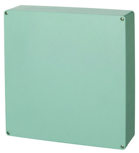 Universal-Gehäuse 405 x 400 x 120 Polyester Silber-Grau (RAL 7001) Fibox P 404012 1 St.