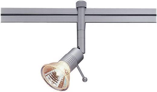 Niedervolt-Schienensystem-Leuchte Linux Light Silber GX5.3 50 W Halogen, LED SLV Syros 138212 Silber-Grau