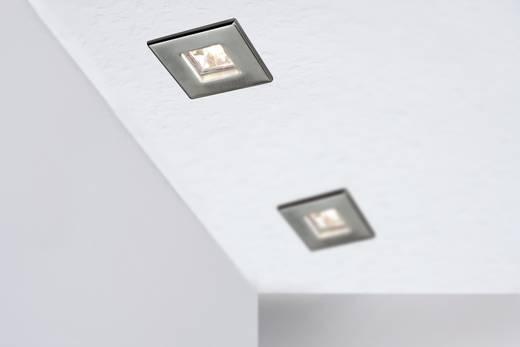 Einbauleuchte 3er Set Halogen GU5.3 60 W Paulmann 99543 Quadro Eisen