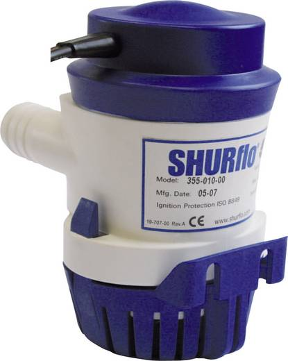 Niedervolt-Tauchpumpe SHURflo 355-100-00 3780 l/h 2.5 m