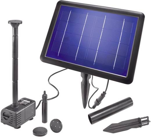 Solar-Pumpenset mit Akkuspeicher 240 l/h Esotec Palermo Plus 101771