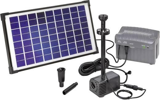 Solar-Pumpenset mit Beleuchtung, mit Akkuspeicher 750 l/h Esotec Napoli LED 101774