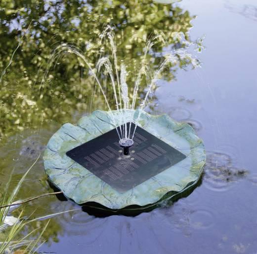 Schwimmende Solarteichpumpe mit Beleuchtung 150 l/h Solar Trend med belysning 01560