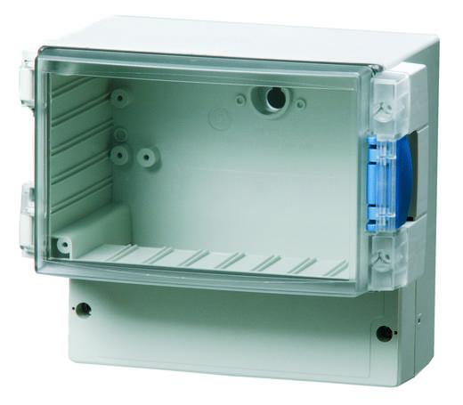 Universal-Gehäuse 188 x 160 x 134 ABS Licht-Grau (RAL 7035) Fibox ABS 17/16-3 TT 1 St.