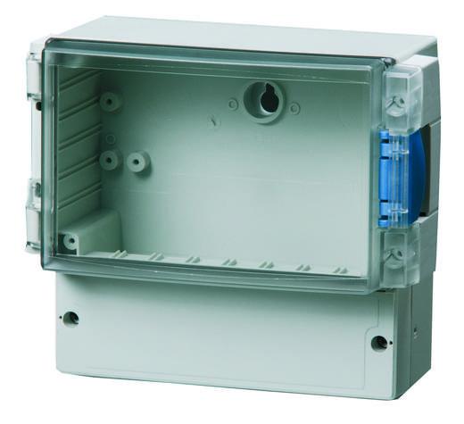 Wand-Gehäuse 188 x 160 x 106 Polycarbonat Licht-Grau (RAL 7035) Fibox PC 17/16-L3 TT 1 St.