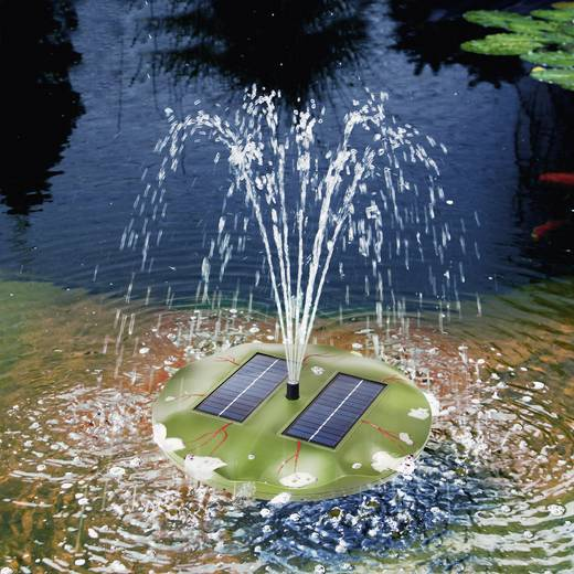 Schwimmende Solarteichpumpe 160 l/h Esotec 101770