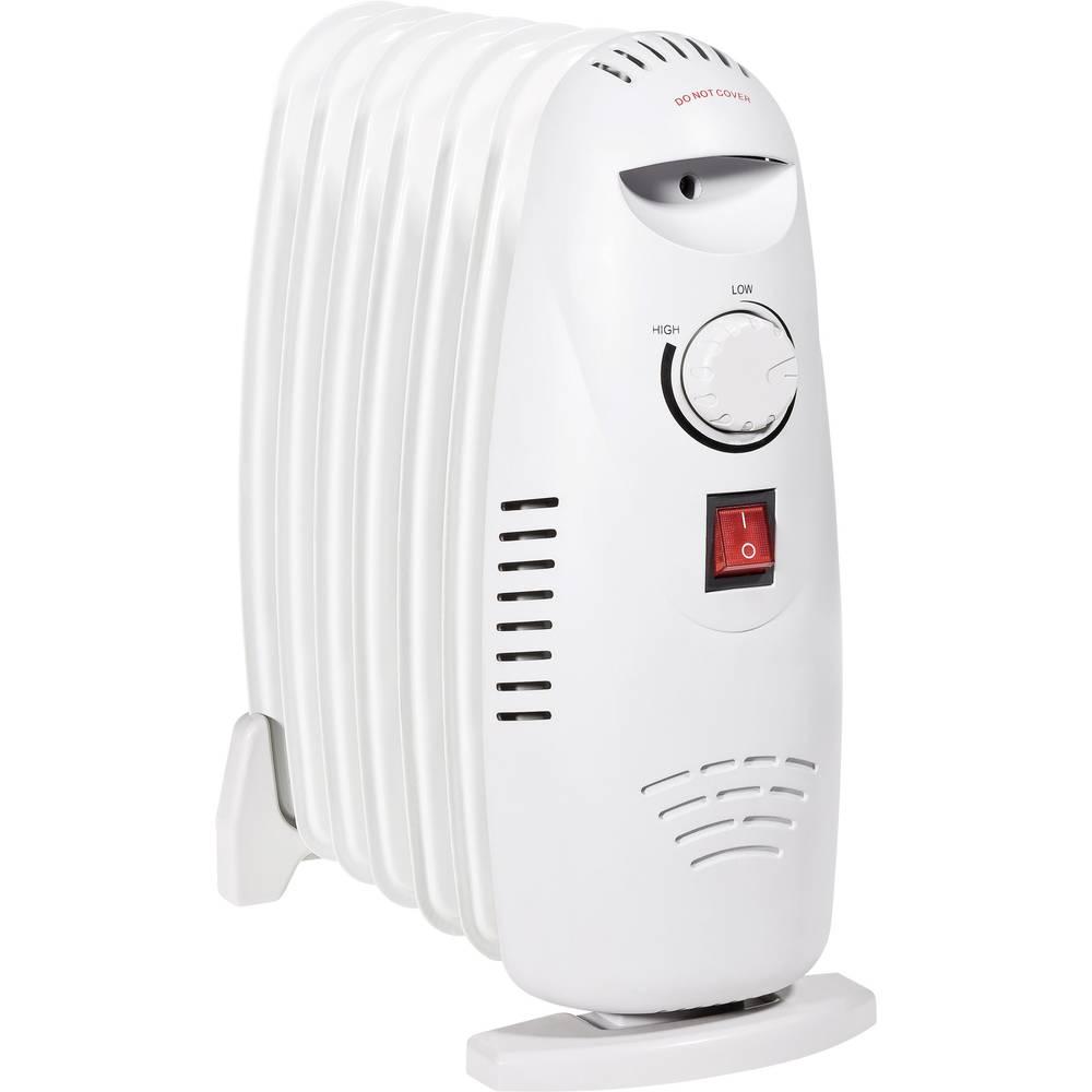 radiateur bain d 39 huile kompakt 600 w blanc sur le site internet conrad 551312. Black Bedroom Furniture Sets. Home Design Ideas