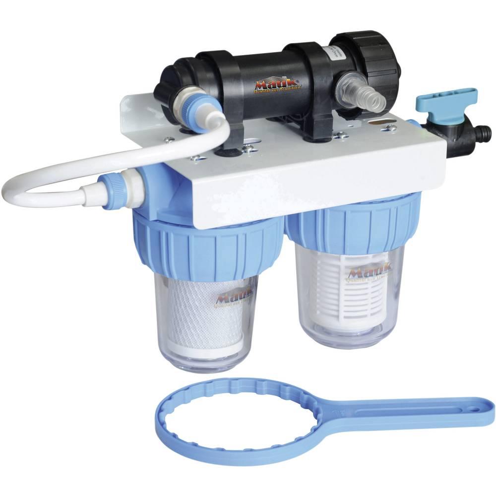 Combi filtre eau filet charbon actif for Filtre a charbon actif maison