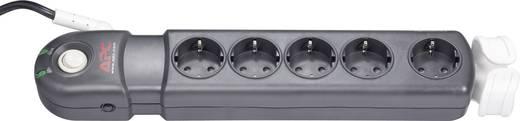 Überspannungsschutz-Steckdosenleiste 5fach Anthrazit, Grau Schutzkontakt APC by Schneider Electric PL5B-DE